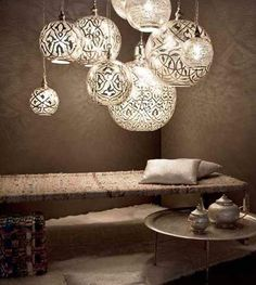 Unique pendant lights and Arabic decor- Egyptian Style Posted by Hila Hamidi
