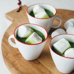Matcha White Hot Chocolate   Food & Wine