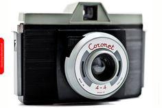 Cámara formato 120 mm - Aspecto  4 x 4 - Modelo : Coronet, fabricado en Inglaterra