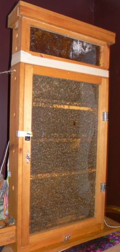 Here are plans for standard wooden hives, honey extractors, swarm catch hives and observation hives. With this collection of apiary plans, you and your buzzing house guests will be producing delicious honey in no time. Honey Extractor, Bee Hive Plans, Bee Supplies, Raising Bees, Bee Boxes, Bee Farm, Backyard Beekeeping, Bees Knees, Home Jobs