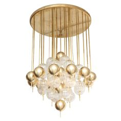 1stdibs | Magnificent Italian Chandelier With Pendants
