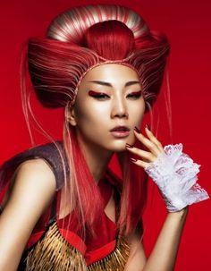 原田 忠   WORKS   HAIR&MAKE UP ARTIST SHISEIDO BEAUTY CREATION RESEARCH CENTER   資生堂グループ企業情報サイト