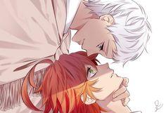 Norman and Emma Anime D, Anime Couples Manga, I Love Anime, Anime Life, Anime Stuff, Norman, Terra Do Nunca, Desenhos Love, Cute Kawaii Drawings