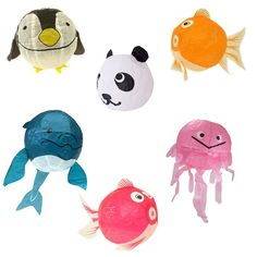 Perfect party !  Japanese Paper Balloons in Animal Designs @pipii_at_home £2.25