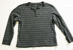 J Crew Mens Large Gray Striped Pullover Thermal Top Sweater Henley Shirt #JCREW #Henley #fashion #style #sale #vintage #shopping #clothing #ebayseller #abestbra #instagood #fashionista #paypal #toys #ebaystore #wholesale #holidaygifts #collectibles #vinyligclub #dress #accessories #pokemon #art #ootd #mens #shoes #instadaily #shop #selling