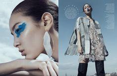 Harper's Bazaar Kazakhstan - Tiana Tolstoi