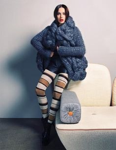 Chunky knit :The New Knitted Fashion | IsabellaGucci.com Fashion And Beauty For The Hardcore