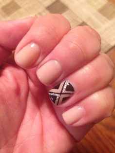 Love my first mani of 2015 that Thy customized for me!