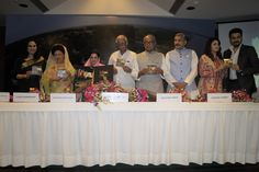 """Rajkumari of Pratapgarh Ratna Singh launched her latest song """"Jai Jai Gange"""", voiced by bollywood's well known singer Akriti Kakkar. Song was released by the Hon'ble Union Minister for Civil Aviation, Ashok Gajapathi Raju, in front of more than 20 Royal families of India. """"Jai Jai Gange"""" is a religious track promoting the Ganga cleanliness"""