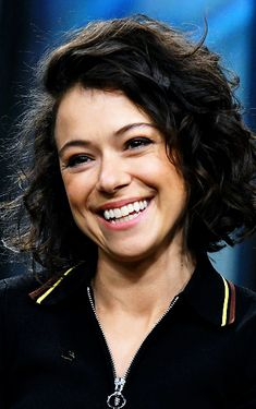Tatiana Maslany visits Build Series to discuss the final season of the hit show 'Orphan Black' at Build Studio on June 2017 in New York City. Tatiana Maslany, Sci Fi Thriller, Tony Goldwyn, Trans Man, Michelle Dockery, Black Tv, Bbc America, I Have A Crush, Canadian Actresses