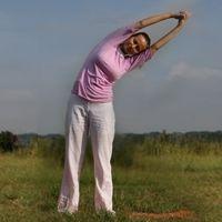 Konasana Yoga Asana - Angle Yoga Asana