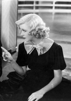 Ginger Rogers in Swing Time (1936).
