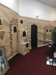 Bible Museum, Sunday School Decorations, Classroom Wall Decor, Sunday School Classroom, Newspaper Design, Vacation Bible School, Kids Church, Aladdin, Homeschool