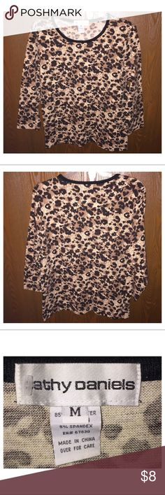 Women's Top Brand new without tags, never worn and does not have any flaws at all! Cathy Daniels Tops Blouses