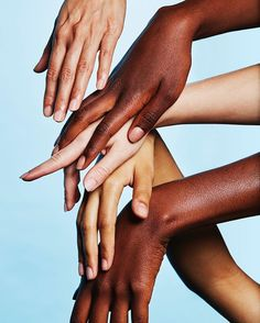 The only things you need to apply Perfecting Skin Tint are your fingers. No offense to brushes Get yours at Glossier.com