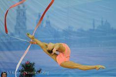Rhythmic gymnastics leap