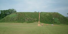 Temple Mound, Kolomoki Mounds State Park, Blakely, Early County, GA.