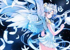 Sailor Cosmos by CKYM: http://www.pixiv.net/member_illust.php?mode=medium_id=35209197