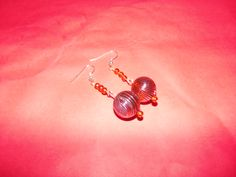 Brown and Silver Dangles
