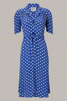 Vintage Dresses perfect for Goodwood Revival, Twinwood Festival by Seamstress of Bloomsbury Dresses - Rock n Romance.co.uk