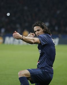 Edinson Cavani Paris Saint-Germain #PSG UEFA Champions League