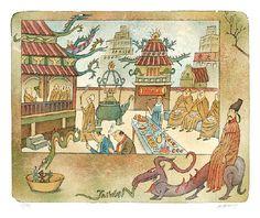 Adolf Born illustration Taiwan