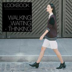 ANTHOM Lookbook Walking, Waiting - Thinking