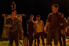 Watch the first clip of The Maze Runner! Thomas and Alby.