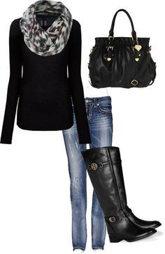 Style for over 35 ~ Classic black with a gorgeous scarf #21stepsstylecourse | 40plusstylecourses.com