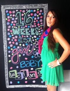 It's a Girl ... Baby Luciana on the way
