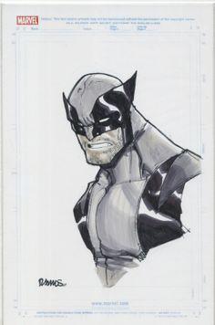 Wolverine by Humberto Ramos. Comic Art