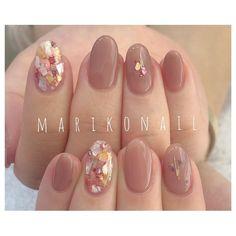 Korean Nail Art, Korean Nails, Cute Nails, Pretty Nails, Natural Color Nails, Office Nails, Soft Nails, Nail Art Pictures, Instagram Nails