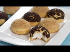 Choux au Craquelin - Crispy Cream Puffs :: Home Cooking Adventure