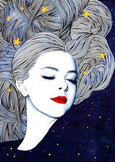 Night by Hajin Bae