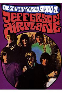 jefferson airplane poster by SYNDICATE69 on Etsy