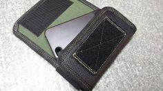 Phone holster, custom leather