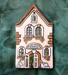 Švec / Zboží prodejce EK Keramika - Hobbies paining body for kids and adult Pottery Gifts, Pottery Tools, Pottery Classes, Clay Projects, Clay Crafts, Wood Crafts, Clay Fairy House, Pottery Teapots, Clay Fairies