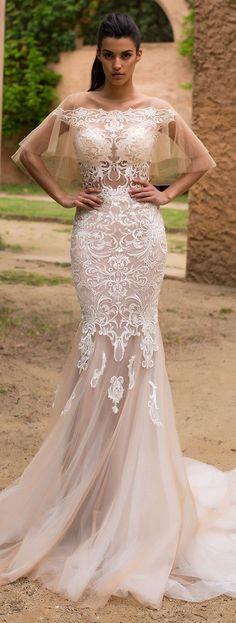 Wedding Dress by Milla Nova White Desire 2017 Bridal Collection - Olivia - Belle The Magazine