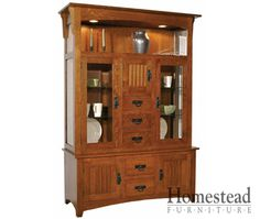 Attractive Liberty Mission Hutch By Homestead Furniture Made In Amish Country.