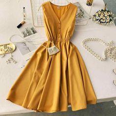 Women's Dresses, Women's Fashion Dresses, Elegant Dresses, Pretty Dresses, Vintage Dresses, Beautiful Dresses, Dress Outfits, Casual Dresses, Casual Outfits
