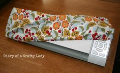 Diary of a Crafty Lady: Fabric Silhouette and Cameo Dust Covers