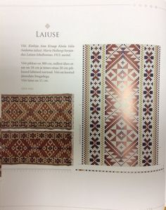 latvian belt patterns