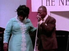 Louis Armstrong & Mahalia Jackson - Just A Closer Walk With Thee - 7/10/...