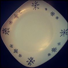Personalize a Plate with a Sharpie