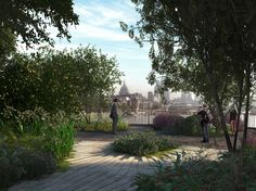 London's Garden Bridge will be a stunning new public garden and pedestrian crossing spanning the River Thames, linking the South Bank to Temple station and ...