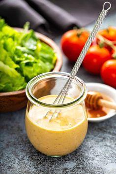Honey Mustard Recipe Honey Mustard Recipes, Homemade Honey Mustard, Honey Mustard Salmon, Honey Mustard Sauce, Honey Recipes, Sauce Recipes, Cooking Recipes, Keto Recipes, Dinner Recipes