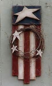 Lots and lots of Country Primitive Patterns Free - Bing Images Americana Crafts, Patriotic Crafts, Country Crafts, July Crafts, Summer Crafts, Country Decor, Rustic Americana Decor, Country Homes, Primitive Wood Crafts
