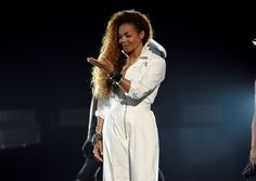 Janet Jackson accepts the ultimate icon: music dance visual award at the BET Awards at the Microsoft... - The Associated Press