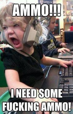 Gamer girl in the making... this will be my daughter...