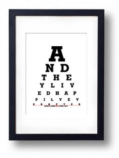 Anniversary Gift for Parents /Wedding anniversary  by Eyecharts, $20.00